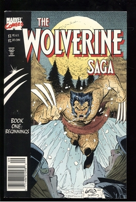 Picture of THE WOLVERINE SAGA BOOK ONE BEGINNINGS 8.5 VF+