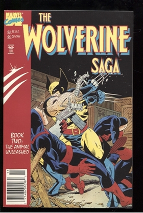 Picture of THE WOLVERINE SAGA BOOK TWO THE ANIMAL UNLEASHED 9.2 NM-