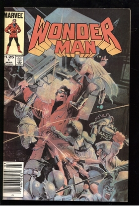 Picture of WONDER MAN (1985) #1 6.0 FN