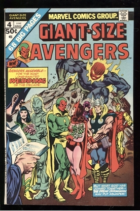 Picture of GIANT-SIZE AVENGERS (1974) #4 8.0 VF