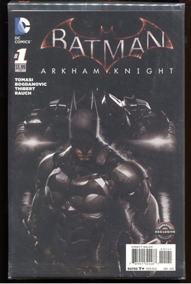 Picture of BATMAN ARKHAM KNIGHT #1 GAMESTOP VARIANT SEALED