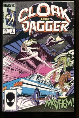 Picture of CLOAK AND DAGGER (1983) #5 9.2 NM-