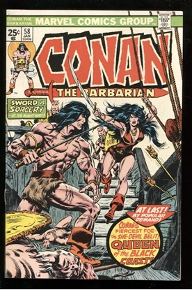Picture of CONAN THE BARBARIAN (1970) #58 6.0 FN