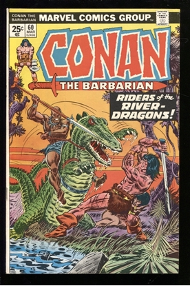 Picture of CONAN THE BARBARIAN (1970) #60 7.0 FN/VF