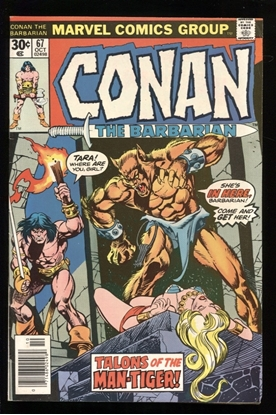 Picture of CONAN THE BARBARIAN (1970) #67 7.0 FN/VF