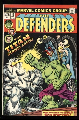 Picture of DEFENDERS (1972) #12 7.0 FN/VF