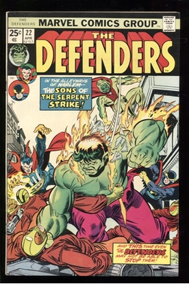 Picture of DEFENDERS (1972) #22 7.5 VF-