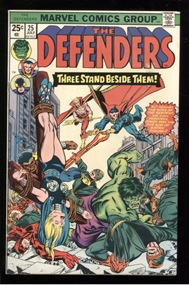Picture of DEFENDERS (1972) #25 7.0 FN/VF