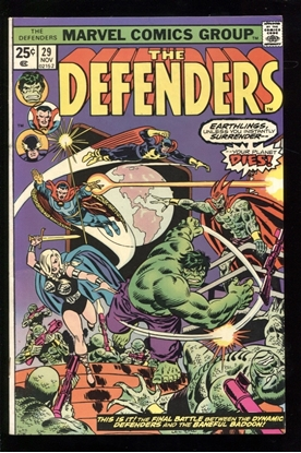Picture of DEFENDERS (1972) #29 7.5 VF-