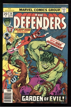 Picture of DEFENDERS (1972) #36 8.5 VF+