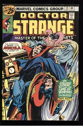 Picture of DOCTOR STRANGE (1974) #14 6.0 FN