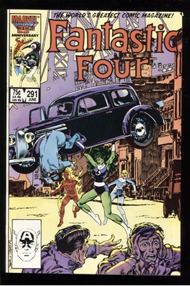 Picture of FANTASTIC FOUR (1961) #291 9.6 NM+