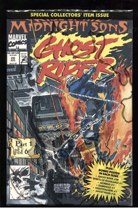 Picture of GHOST RIDER (1990) #28 9.4 NM
