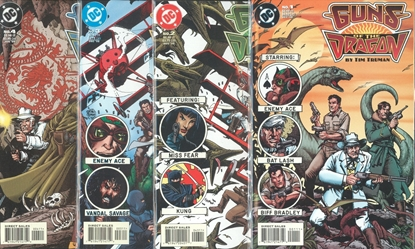 Picture of GUNS OF THE DRAGON (1998) #1-4  1ST PRINT SET NM-
