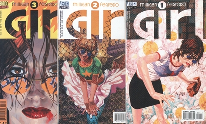 Picture of GIRL (1996) #1-3  1ST PRINT SET NM-