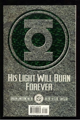Picture of GREEN LANTERN (1990) #81 9.4 NM