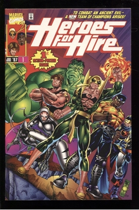 Picture of HEROES FOR HIRE (1997) #1 9.4 NM