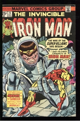 Picture of IRON MAN (1968) #74 7.0 FN/VF