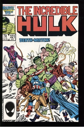 Picture of INCREDIBLE HULK (1968) #321 9.6 NM+