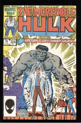 Picture of INCREDIBLE HULK (1968) #324 8.5 VF+