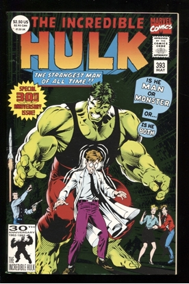 Picture of INCREDIBLE HULK (1962) #393 8.5 VF+