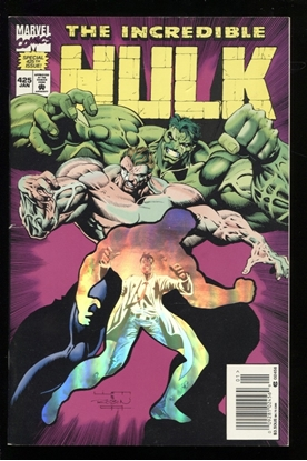 Picture of INCREDIBLE HULK (1962) #425 7.5 VF-