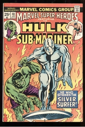 Picture of MARVEL SUPER-HEROES #48 6.5 FN+