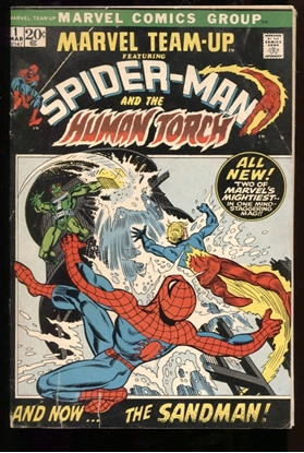 Picture of MARVEL TEAM-UP (1972) #1 4.0 VG