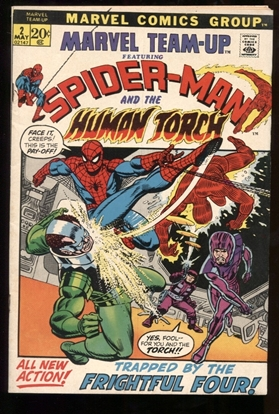 Picture of MARVEL TEAM-UP (1972) #2 6.5 FN+