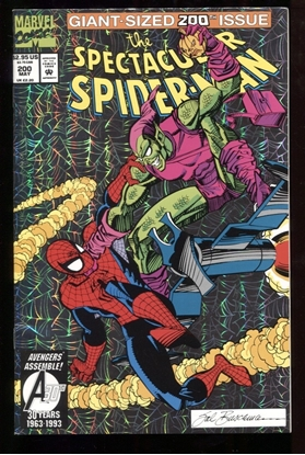 Picture of SPECTACULAR SPIDER-MAN #200 9.0 VF/NM