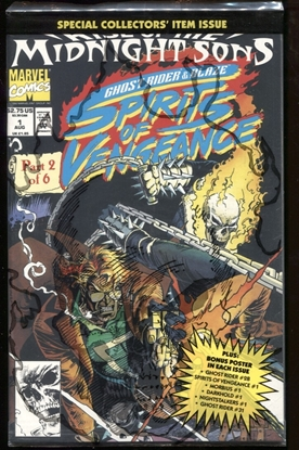 Picture of SPIRITS OF VENGEANCE (1992) #1 9.4 NM POLYBAGGED