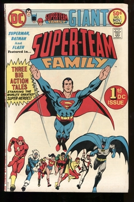 Picture of SUPER-TEAM FAMILY #1 7.0 FN/VF