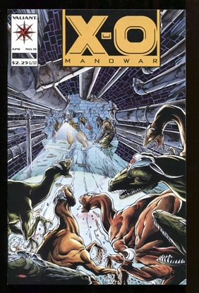Picture of X-O MANOWAR (1992) #15 9.6 NM+