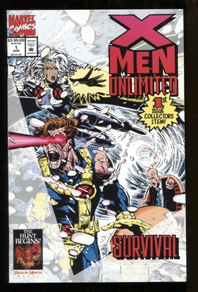 Picture of X-MEN UNLIMITED (1993) #1 9.6 NM+