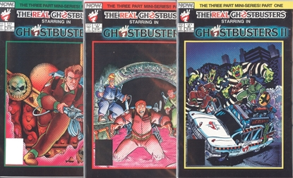 Picture of GHOSTBUSTERS II (1989) #1-3 SET VF+