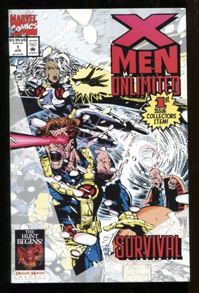 Picture of X-MEN UNLIMITED (1993) #1 9.2 NM