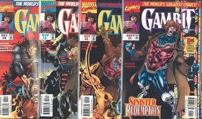 Picture of GAMBIT (1997) #1-4 SET VF/NM