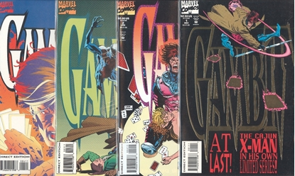 Picture of GAMBIT (1993) #1-4 SET VF/NM