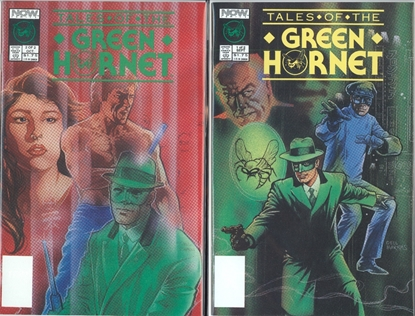 Picture of TALES OF THE GREEN HORNET (1990) #1-2 SET NM-