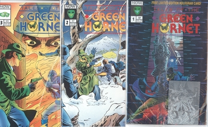 Picture of TALES OF THE GREEN HORNET (1992) #1-3 SET VF/NM