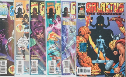 Picture of GALACTUS THE DEVOURER  (1999) #1-6 SET VF/NM
