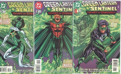Picture of GREEN LANTERN SENTINEL HEART OF DARKNESS (1998) #1-3 SET NM
