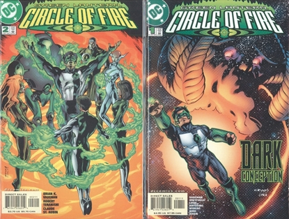 Picture of GREEN LANTERN CIRCLE OF FIRE  (2000) #1 & 2 SET NM-