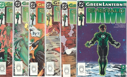 Picture of GREEN LANTERN EMERALD DAWN (1989) #1-6 SET VF/NM