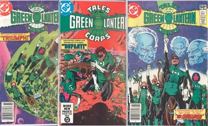 Picture of TALES OF THE GREEN LANTERN CORPS (1981) #1-3 SET VF-