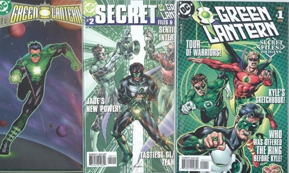 Picture of GREEN LANTERN SECRET FILES AND ORIGINS (1998) #1-3 SET VF/NM