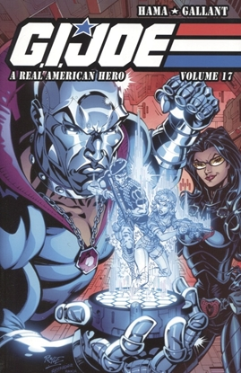 Picture of GI JOE A REAL AMERICAN HERO TP VOL 17