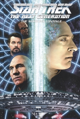 Picture of STAR TREK TNG HC MISSIONS CONTINUE