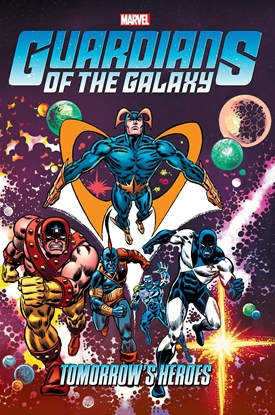 Picture of GUARDIANS OF THE GALAXY TOMORROWS HEROES OMNIBUS HC