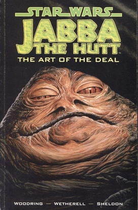 Picture of STAR WARS JABBA THE HUTT THE ART OF THE DEAL